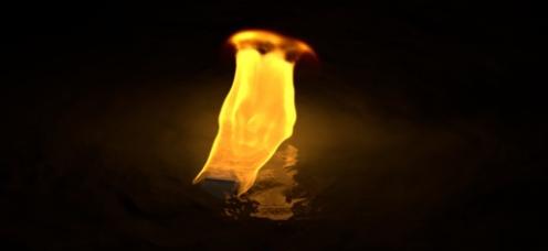 Sodium burning